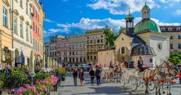 Krakow z Prahy v květnu za 678 Kč/ zpáteční letenka!