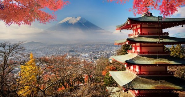 Letenky do Tokia za 12 528 Kč