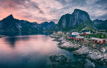 Tipy na aktivity v Norsku – sledování polární záře, lyžování a památky