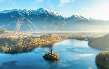 Tipy na aktivity ve Slovinsku – jezera, vodopády, jeskyně i horské treky