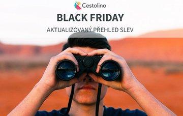 Black Friday 2019: velký přehled cestovatelských slev (PRŮBĚŽNĚ AKTUALIZUJEME)