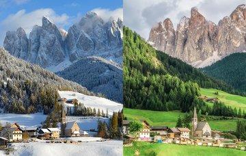 Zima versus léto: Kdy navštívit Dolomity?
