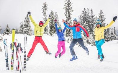 Skvělé lyžování ve Skiamadé