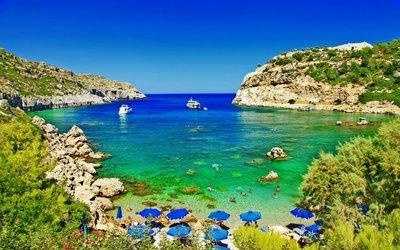 Rhodos – ostrov boha slunce, který je útočištěm před podzimním chladem