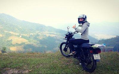 Asie na motorce: 4 000 kilometrů sama v sedle