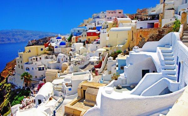 Ostrov Santorini: Turistický ráj vznikl na troskách civilizace