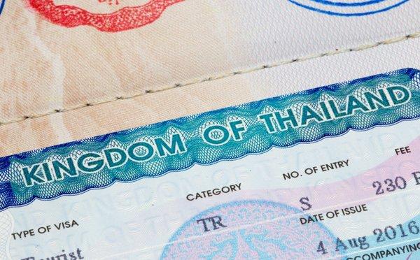 Vízum do Thajska a další vstupní formality
