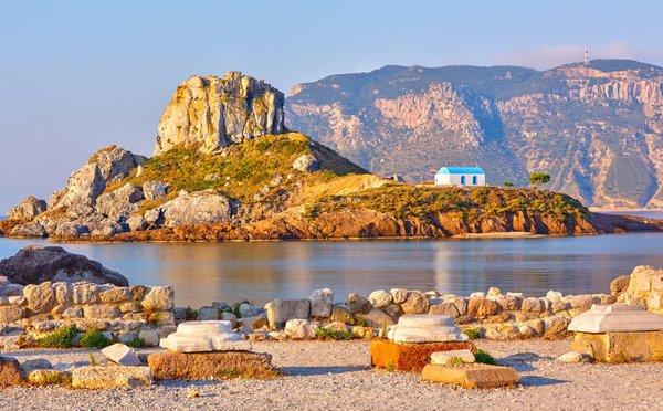 Kos – ostrov, který projedete za jeden den