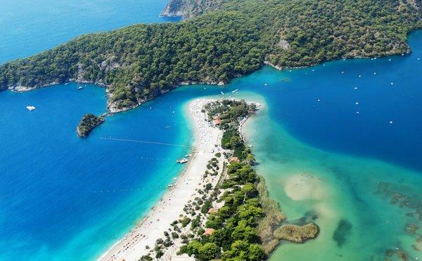 Nej pláže Turecka: Které jsou nejčistší, nejoblíbenější nebo nejdelší?