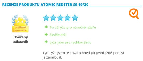 Recenze produktu Atomic Redster
