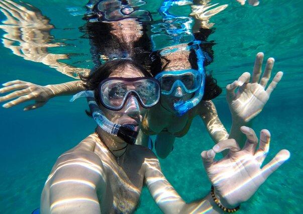 Zanzibar - potápěči