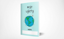 Zápisník pro děti Moje výlety