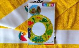 Nafukovací kruh žlutý