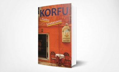 Kniha Korfu s Pavlou Smetanovou