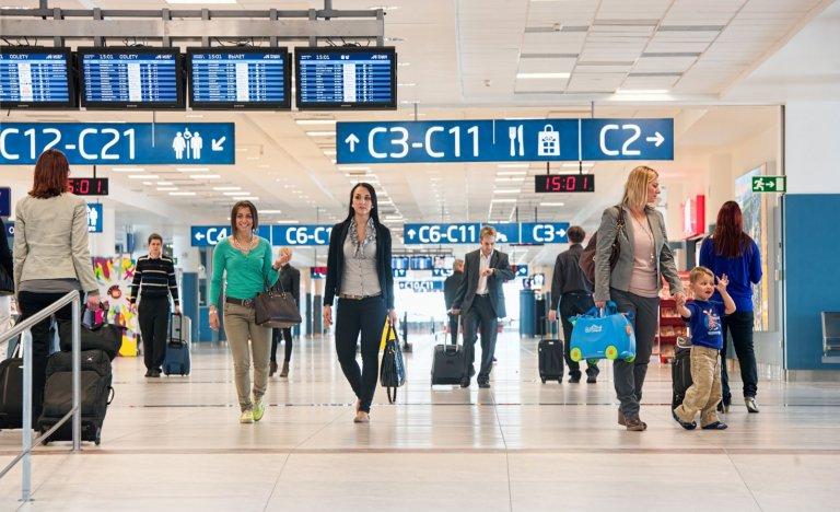 Letiště Praha: Odbavení většiny letů dočasně míří na Terminál 2