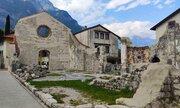 Ruiny kostela sv. Jana Baptisty, původně z první poloviny 14.století